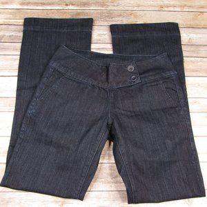 Buffalo David Bitton Dark Wash Flare Trouser Jeans